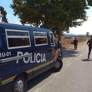 Policia Nacional Furgoneta Mallorca, Europa Pressjpg