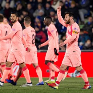 Messi Suarez Dembele Rakitic Getafe Barca EFE