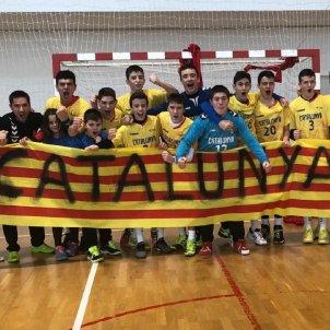 Catalunya infantil Federació Catalana d'Handbol