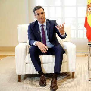 Pedro Sánchez entrevista Efe gener 2019