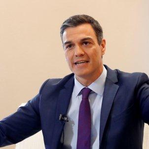 Pedro Sánchez entrevista 8 gener 2019 Efe