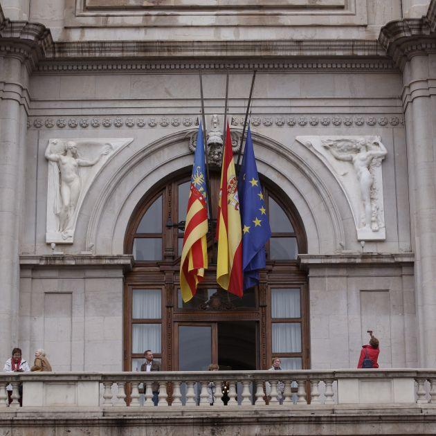 Banderes Barberá EFE