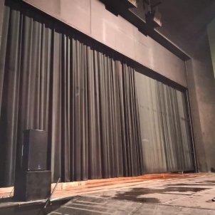 Teatre Municipal de Berga inundat