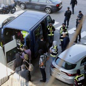 mossos policia nacional incineradora - acn
