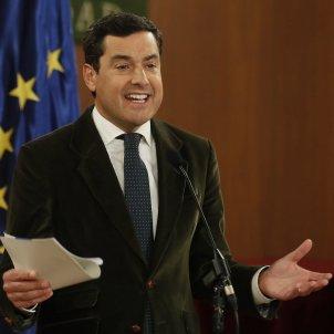 President Andalusia Juanma Moreno PP - Efe