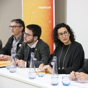 Rovira Torrent Aragonès executiva ERC Ginebra - ACN