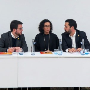 Aragonès Rovira Torrent executiva ERC Ginebra - EFE