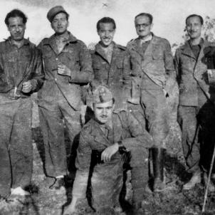 El govern de la República mobilitza la pràctica totalitat de la població. Soldats republicans de la 133 Brigada Mixta (1938 1939). Font Blog Front del Pallars