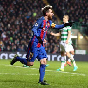 Messi gol Celtic Barça EFE