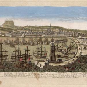 Gravat de Barcelona (1650). Font Museu d'Història de Barcelona