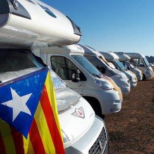 Acampada Lledoners autocaravanes   Omplim LLedoners