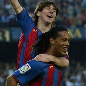 Messi Ronaldinho FCBarcelona