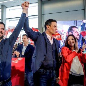 Pedro Sánchez Luis Tudanca EFE