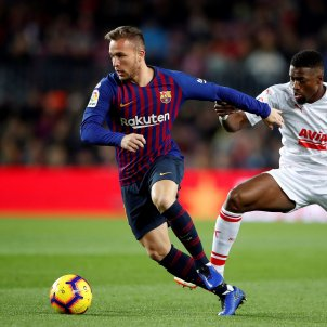 Arthur Barça Eibar EFE