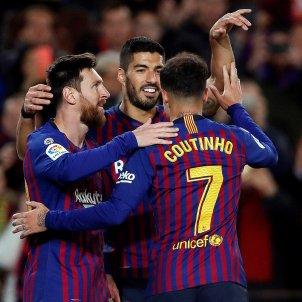 Messi Luis Suárez Barça Eibar EFE