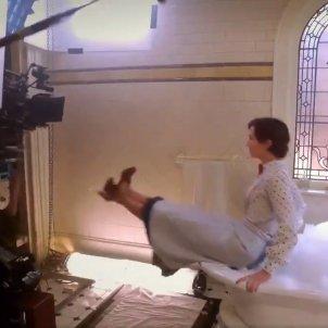 Mary Poppins efecte pel·lícula @CafeFantasía