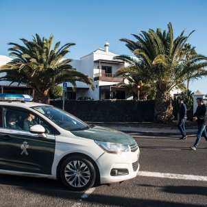 guardia civil lanzarote cas romina - efe