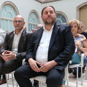 Oriol Junqueras Raül romeva Toni Comin Josep Rull - ACN