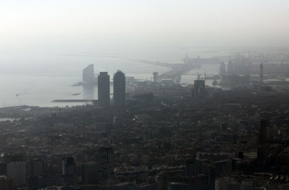 Contaminació Barcelona / ACN
