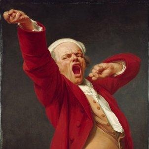 Avorrit Badall (autorretrat de Joseph Ducreux 1783)