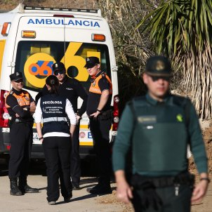 Equips rescat nen pou Málaga 2019