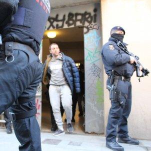 Terrorista detingut gihadista Ciutat Vella Anton Rosa