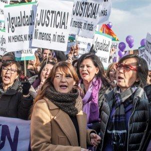 protesta investidura Andalusia gener 2019 Efe