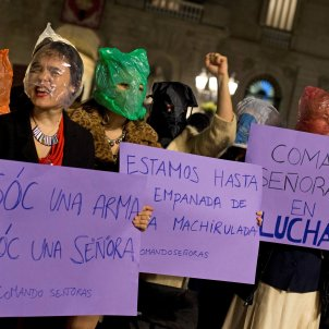 manifestacio feminista vox andalusia sant jaume - efe