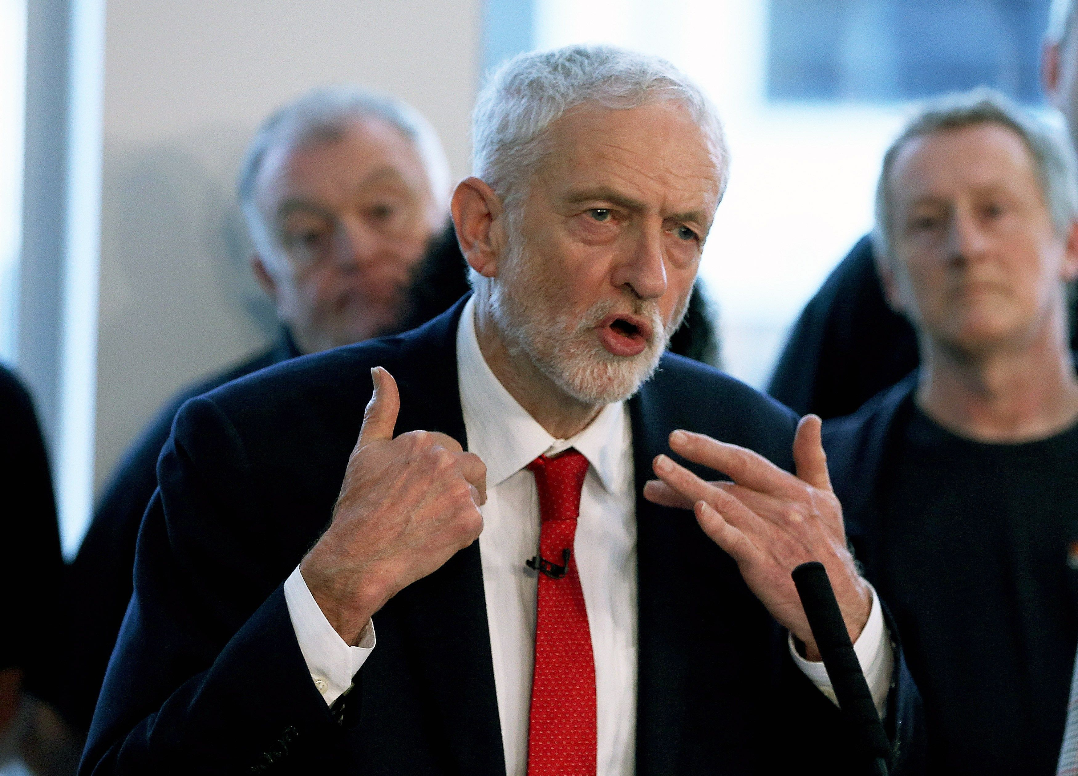 Líder oposició parlament britànic Jeremy Corbbyn - Efe