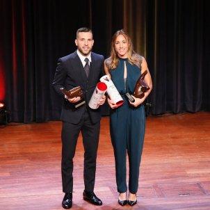 Jordi Alba Jessica Vall Festa Esport Català 2019 Sergi Alcàzar