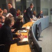 PDeCAT abandona sessió control ajuntament detencions