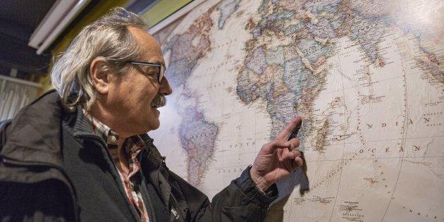 Xavier Moret periodista Livingston - SergiAlcazar