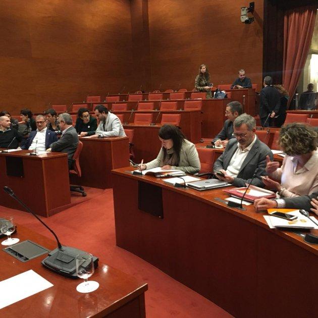 Comissió Medi Ambient Parlament - Carlota Camps