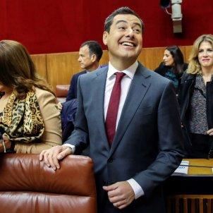juanma moreno parlament andalus - efe