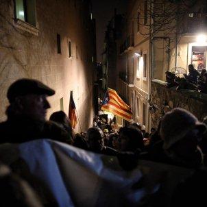 Concentració Girona detencions policia espanyola - Carles Palacio