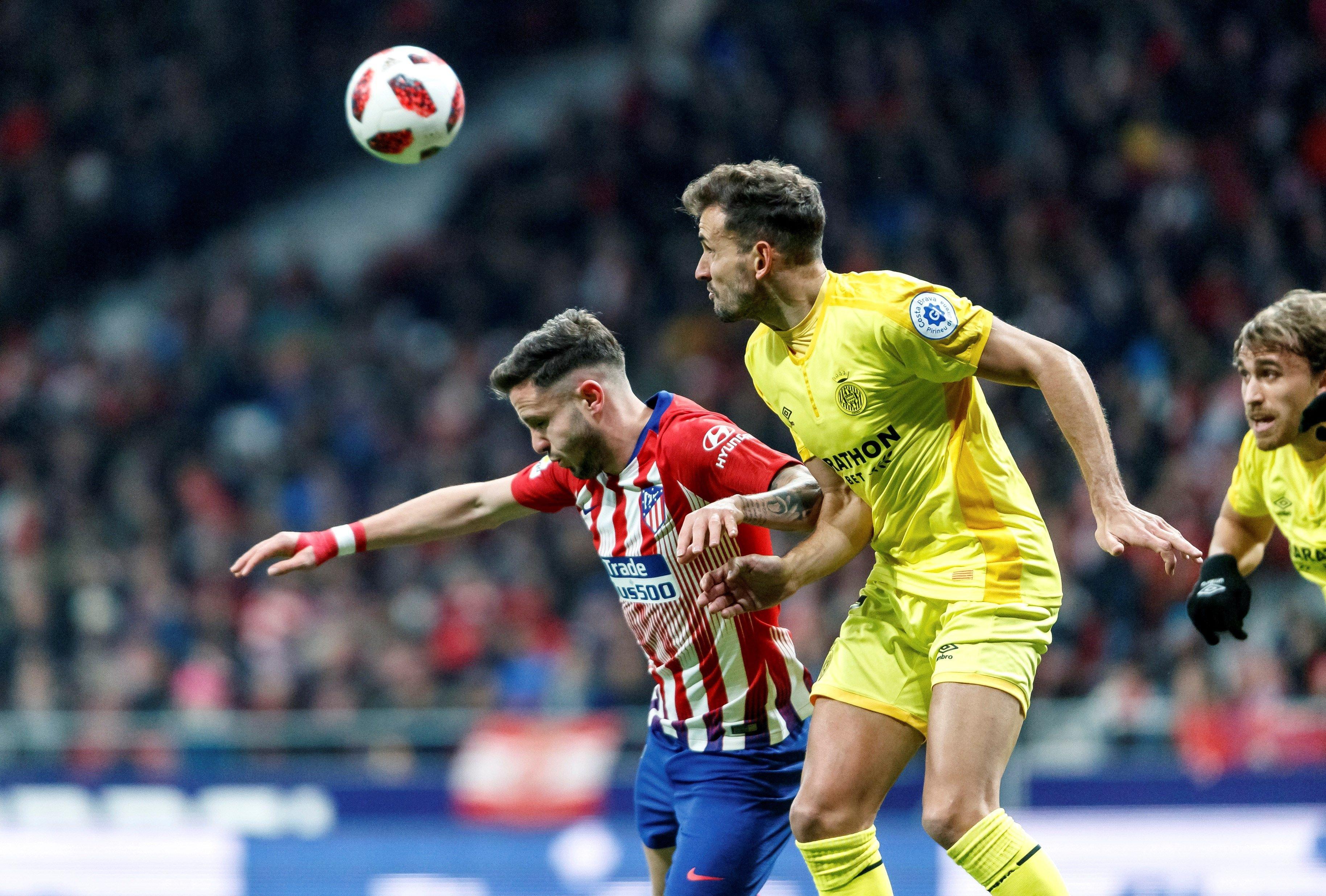 Saúl Ñíguez Stuani Atlètic Madrid Girona EFE