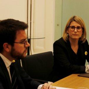 Elsa Artadi i Pere Aragonès ACN