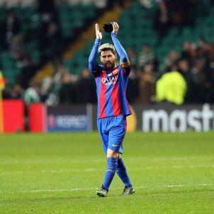 Leo Messi Barça Celtic Celtic Park EFE