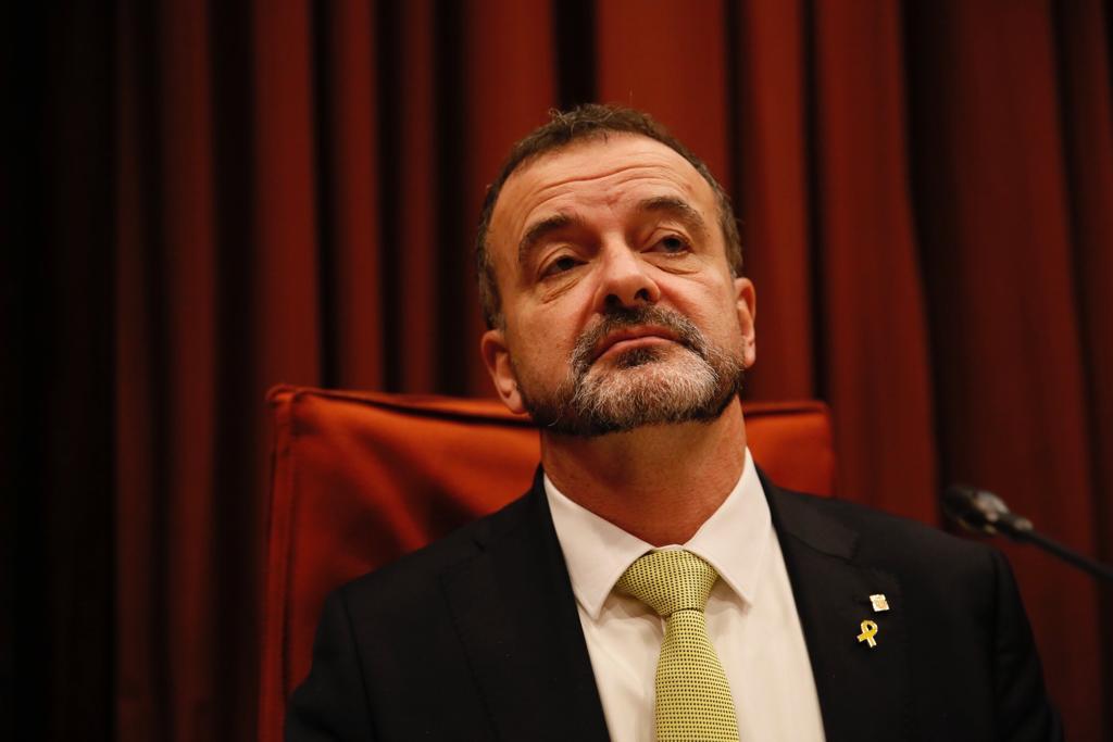 ELNACIONAL Alfred Bosch conseller Exteriors Parlament - Sergi Alcàzar