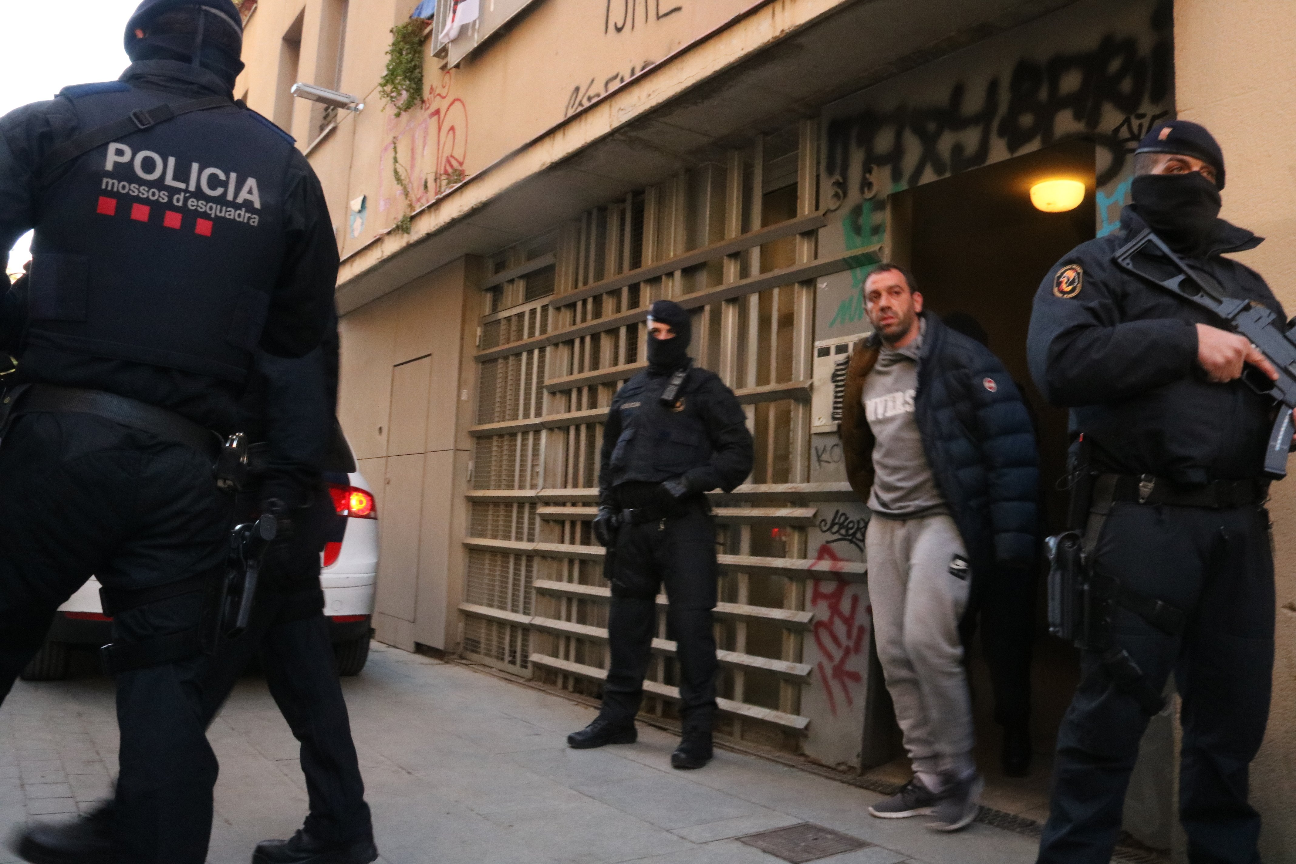 Operació antiterrorista Mossos Barcelona - ACN