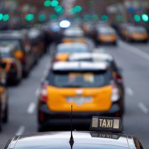 Taxi taxista manifestacio - Efe