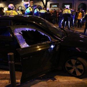 VTC atacat vaga taxi barcelona 18 gener 2019 ACN