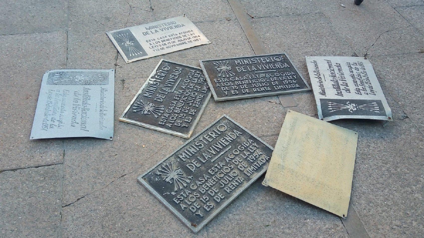 plaques feixistes barcelona @PlataformaTgn