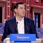 Juanma Moreno convenció PP