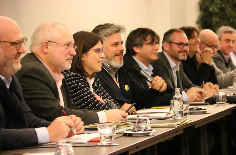 REunio Grup JxCAt Brussel·les Puigdemont - ACN