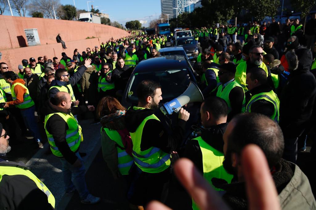 Taxistes vaga ronda litoral Sergi Alcàzar