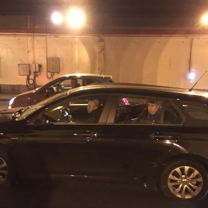 cotxe VTC vaga taxis trencat   Anton Rosa