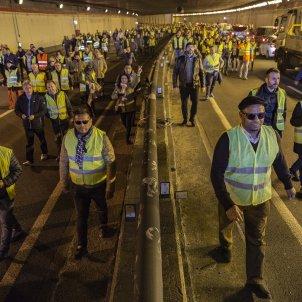 Vaga Taxistes Ronda Litoral Tunel - SergiAlcazar