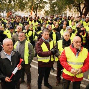 Taxistes esperen reunió Territori   Sergi Alcàzar