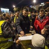 Assemblea taxistes votacions vaga plaça catalunya Sergi Alcazar 01